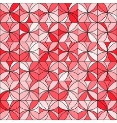 Floral Mosaic Pattern vector