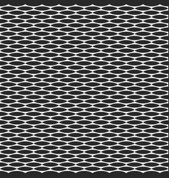 geometric seamless pattern flora horizontal leaf vector image