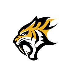 Logo tiger vector