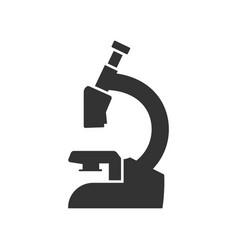 Microscope icon design template isolated vector