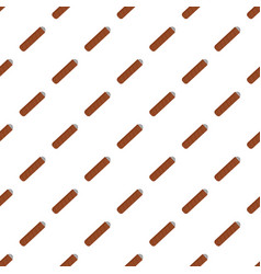 narcotic cigar of cuba icon flat style vector image