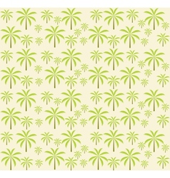 Palm trees seamless pattern EPS 10 vector image