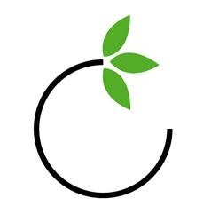 Eco friendly business logo vector image vector image