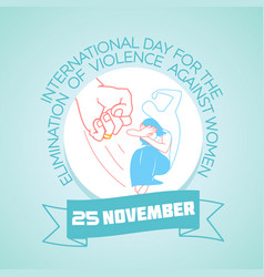 25 november violence against women vector