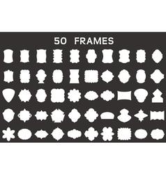 50 frames vector image