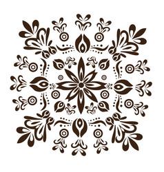 Balinese style texture design vector