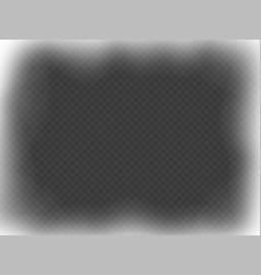 Christmas white frame effect overlay on vector