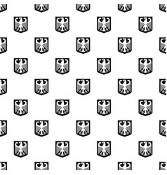 coat of arms of germany pattern vector image