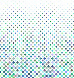 Colorful square pattern background vector