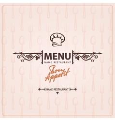 menu 003 vector image