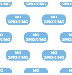 No smoking seamless pattern vector image