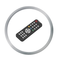 Remote control icon in cartoon style isolated on vector