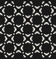 Seamless abstract geometric delicate pattern vector