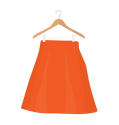 Skirt template design fashion woman - women skirt vector