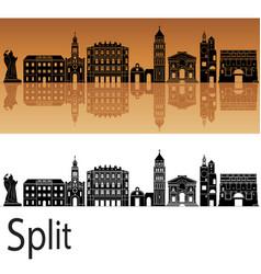 Split skyline vector