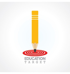 education or focus on future concept vector image