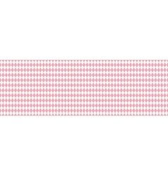 Pink rhombus seamless background vector image vector image