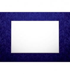 blank canvas vector image