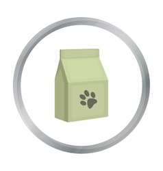 Cat food icon of for web and vector image
