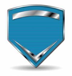 sport shield vector image vector image