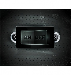 switch icon vector image vector image