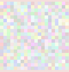 background of art colored light squares mosaic vector image