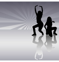 Dancing Girls vector