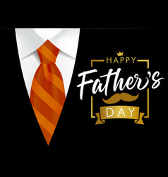 happy fathers day best dad in world vector image