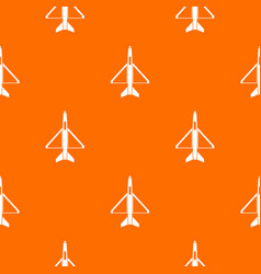 military aircraft pattern seamless vector image