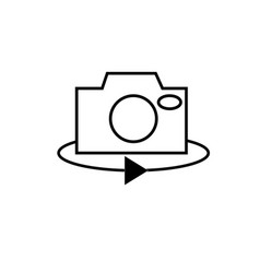 rotate icon vector image