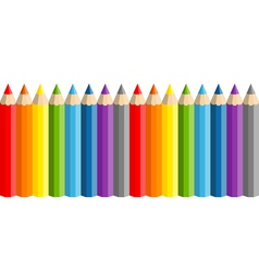 school pencils vector image