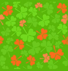 seamless pattern in ireland colors vector image