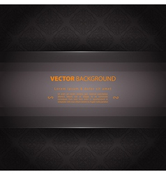 Design template back vector image