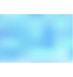 abstract white lines wave on blue background vector image