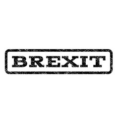 Brexit watermark stamp vector