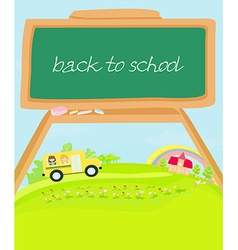 cute back to school vector image