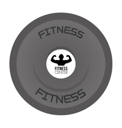 Kettlebell icon design vector