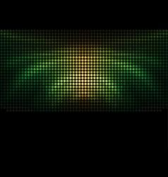 Mosaic - Palm Effect vector