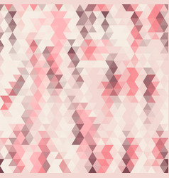 seamless geometric background pattern of triangles vector image