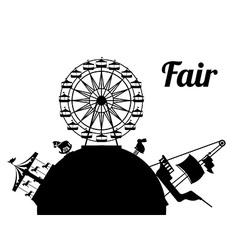 Fair design vector image