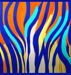 Abstract graphic tiger skin texture in bright vector