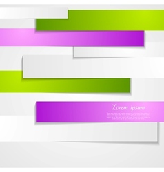 Abstract paper stripes vector