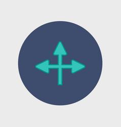 new universal arrow vector image
