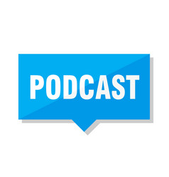 podcast price tag vector image