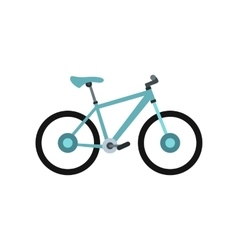 Sport bicycle icon flat style vector