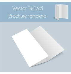 Tri-foldSpa BrochureMock Up vector