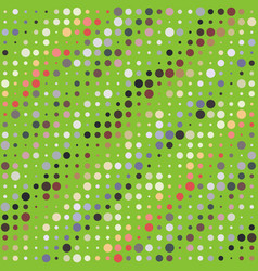 background with irregular colored circles vector image vector image