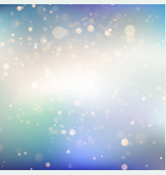 abstract background with bokeh defocused lights vector image
