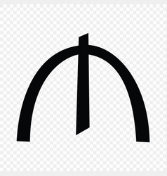 Azerbaijani manat sign vector