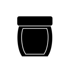 Facial cream bottle icon vector